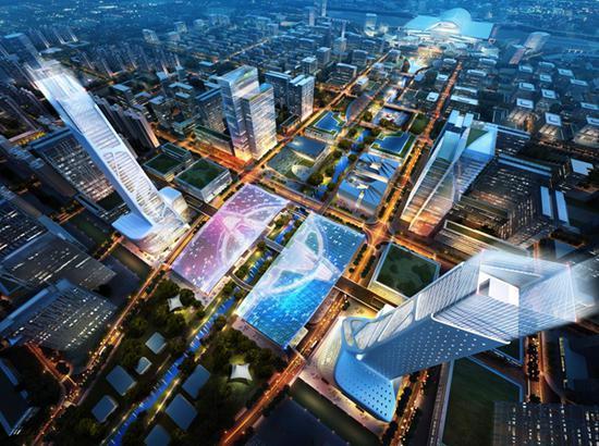 2、美国卡尔索普事务所与北京宇恒可持续交通研究中心方案