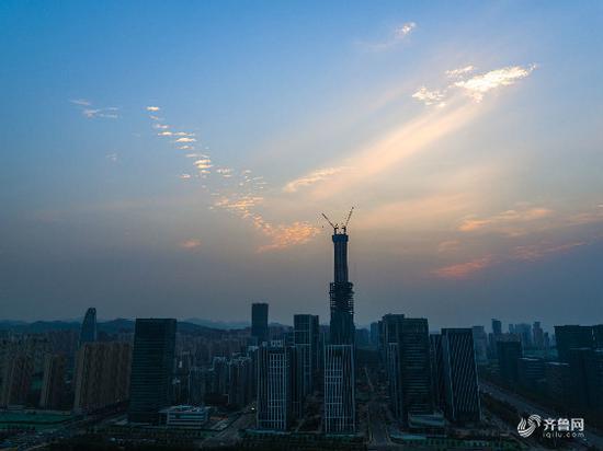 济南第一高楼定名——云鼎大厦