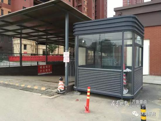 中建新悦城二期东车库入口