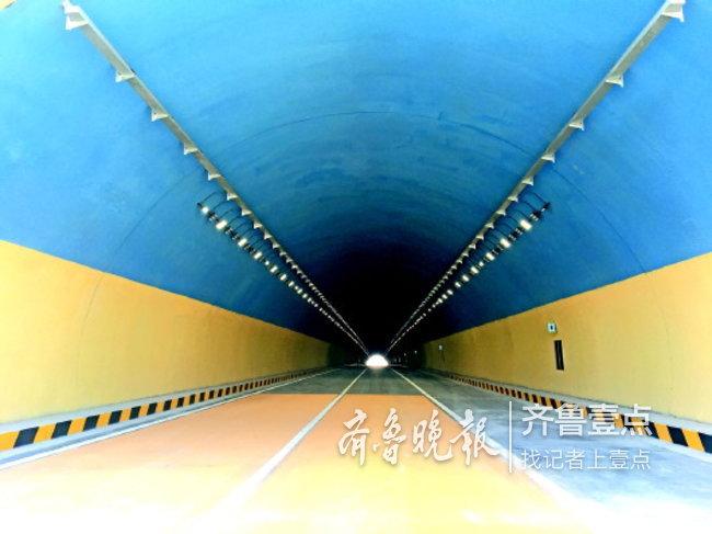 平阴隧道是济南国省道第一座隧道。 齐鲁晚报·齐鲁壹点记者 刘飞跃 摄