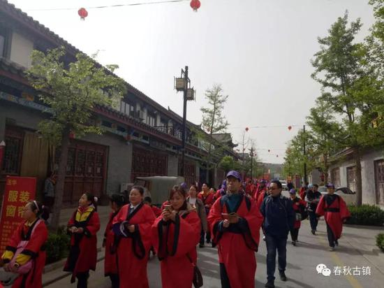 新增的4A级景区有泰安市春秋古镇。