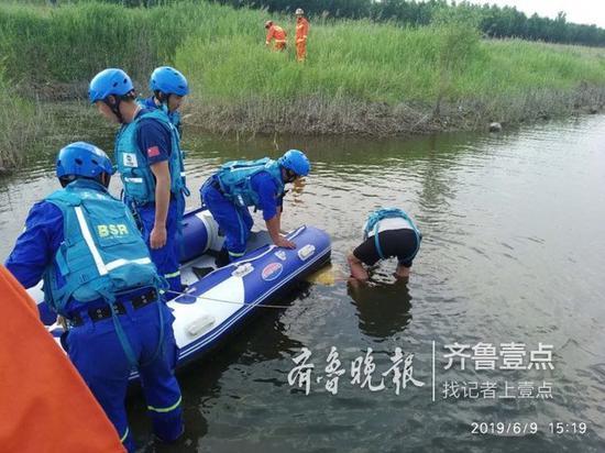 9日下午,在大沽河发生一起溺水悲剧,即墨两名学生下水游泳不幸溺亡。