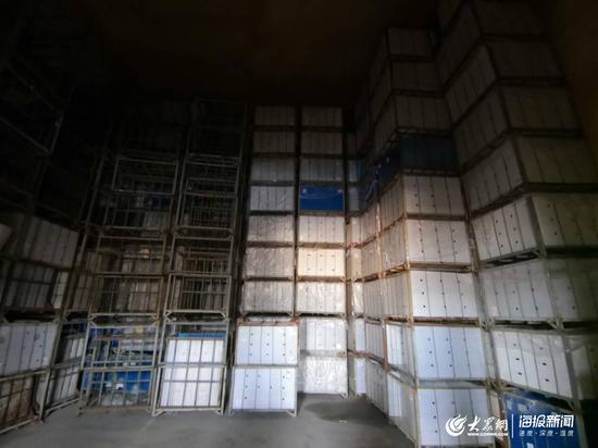 史本鹏所经营的冷库存储量达4000吨,五一之前他的冷库已经全部清空。