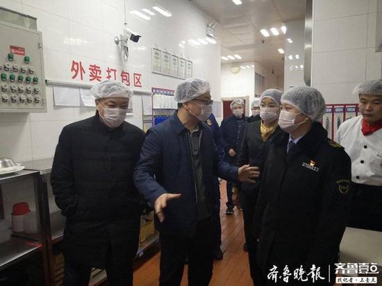 春节临近 济南天桥区督查节日市场供应确保食品安全
