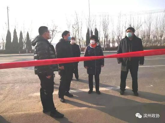 【抗击疫情 政协在行动】滨州民建在行动