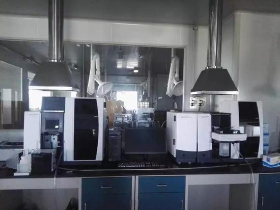 ▲安捷伦石墨炉火焰原子吸收分析仪