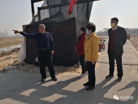 【抗击疫情 政协在行动】滨州市政协副主席吴国瑞到北支新河巡查河长制工作