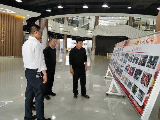 博兴县总工会调研工友创业园创建工作