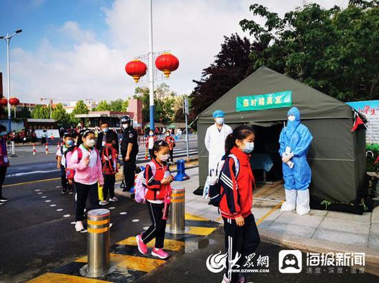 东营市3—5年级学生正式返校