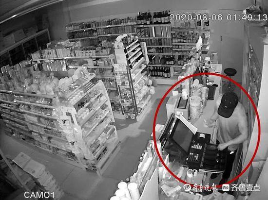 """砸锁偷商铺一瓶饮料都不放过 外地""""惯偷""""来青重操旧业再进宫"""