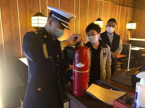 """针对消防产品开展专项整治 济南天桥消防为糖酒会""""保驾护航"""""""