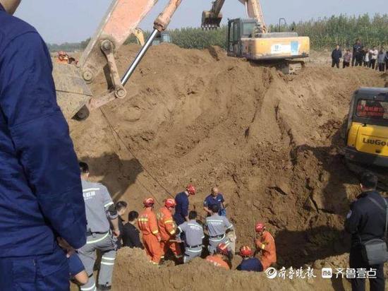 聊城冠县一名幼童不慎坠入深井