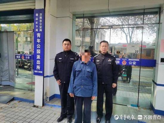 济南某公司内电脑被盗窃 嫌疑人被抓时正在收废品
