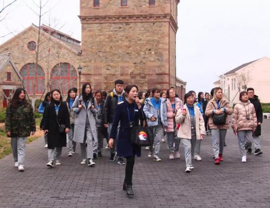 ●食品系学生到刘公岛参观学习