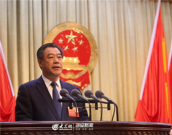 德州市十八届人大三次会议胜利闭幕,刘炳国当选市长。