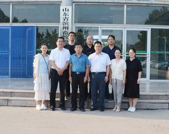 九三学社滨州市委赴市畜牧兽医研究院开展重点课题调研工作