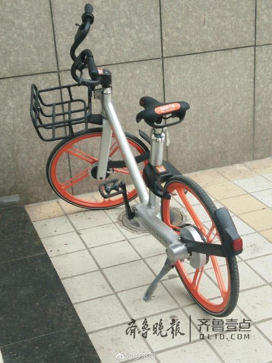 济南摩拜单车被人恶意改装 别傻了 那是最新版