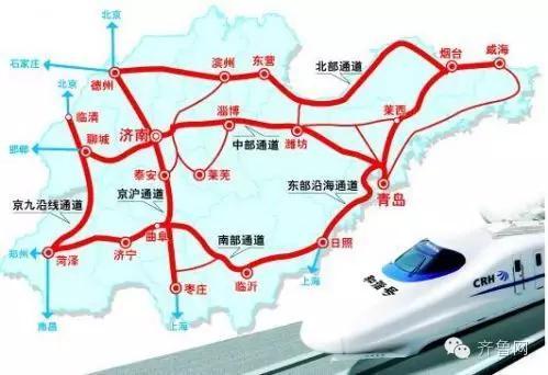 """详解""""三横五纵七连""""快速客运网(点击可看大图)"""