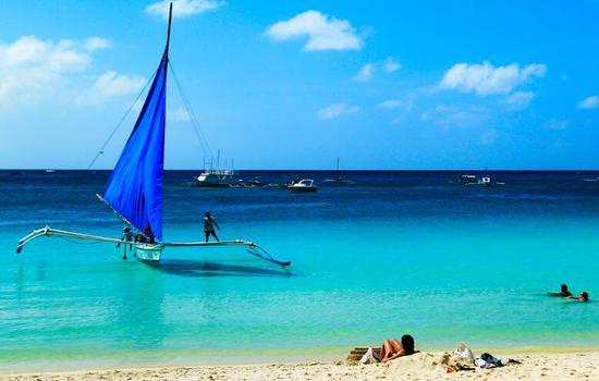 菲律宾长滩岛美景(图片来源于菲律宾旅游局官方网站)