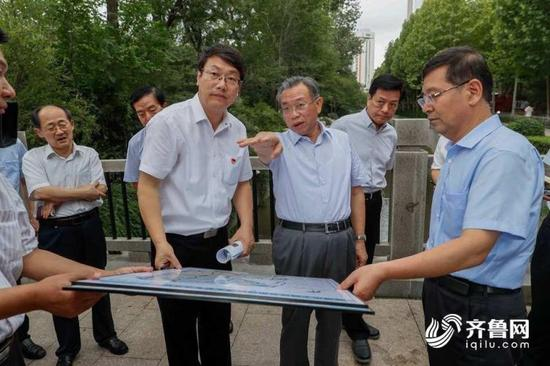 刘家义14日到淄博市督导解决中央环保督察组转办信访问题