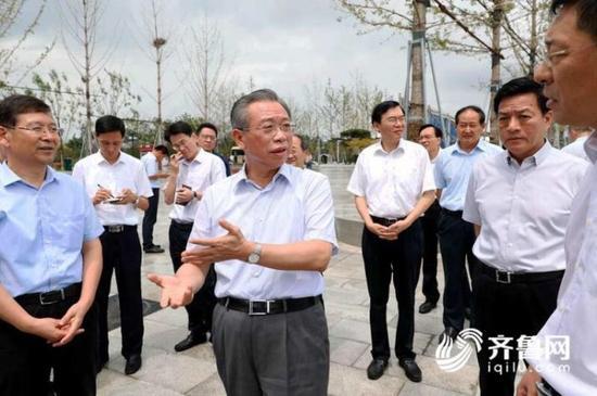 省委常委、秘书长胡文容和淄博市主要负责同志参加督导。