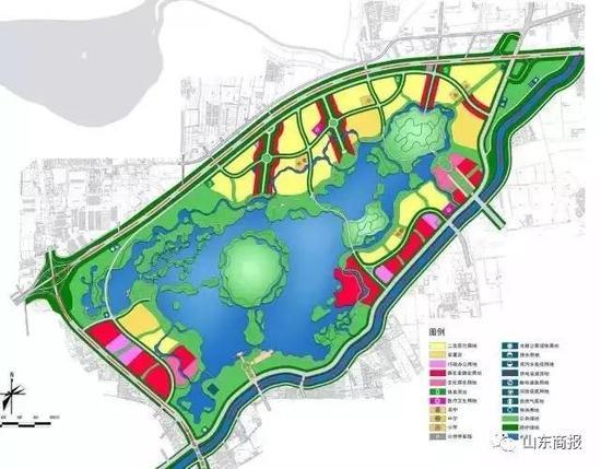 规划生态结构手绘图