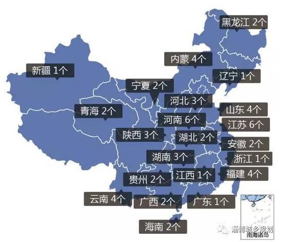 """住建部共分三批颁布了58个""""都邑双修""""试点都邑名单,这是山东省首批入选的四个城市。"""