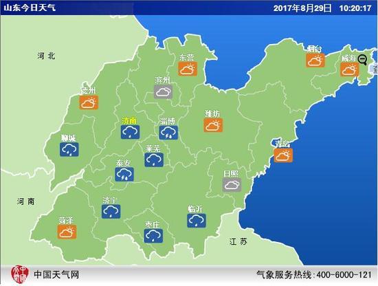 紧急预报!济南还将有中雨最低温15℃!