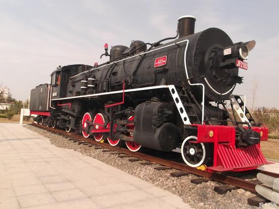 """我国第一台蒸汽机车""""八一""""号"""