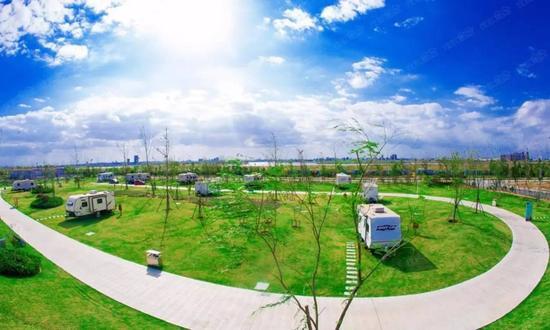 线路二,胶州国家级经济技术开发区(跨海大桥,如意湖)--少海风景区