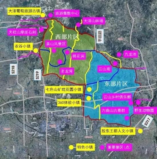 旅游大环路规划图