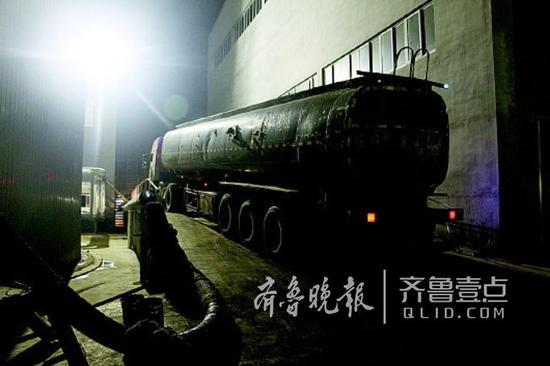 热力集团组织水煤浆运送到热源厂。