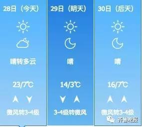 天气预报大风符号-济南 寒潮蓝 还将持续一周 气温也不低