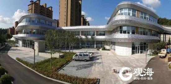青岛市老年活动中心项目完成竣工验收