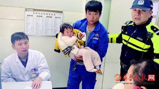 断指连心,500里加急 菏泽两岁女童手指被挤断