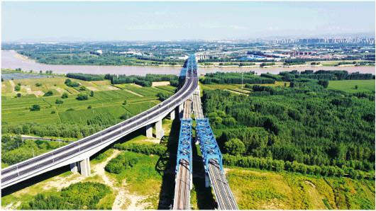紧抓跨河通道新进展 济南先行区助力省会全面起势