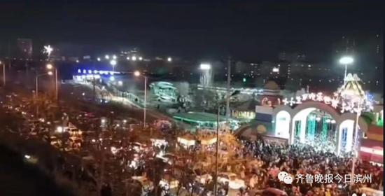车堵人挤 一片混乱 滨州这处旅游景点遭市民疯狂吐槽