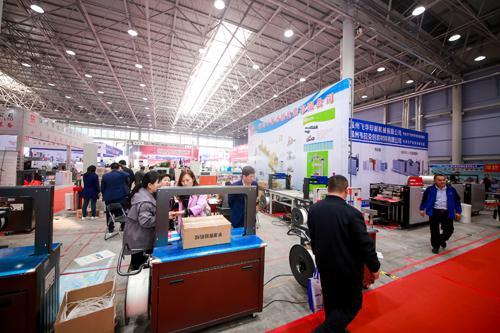 2019山东国际印刷、包装工业展览会现场。 记者 徐晓阳 摄