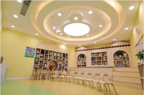爱贝少儿英语培训校区环境再升级,给孩子高效的学习环境