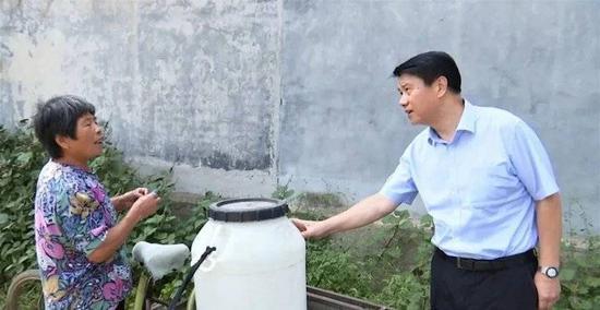 泰安市委书记崔洪刚在宁阳县调研