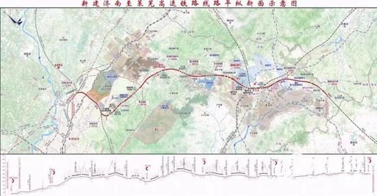 济莱高铁新进展 济南轨道交通集团到钢城区对接济莱高铁项目