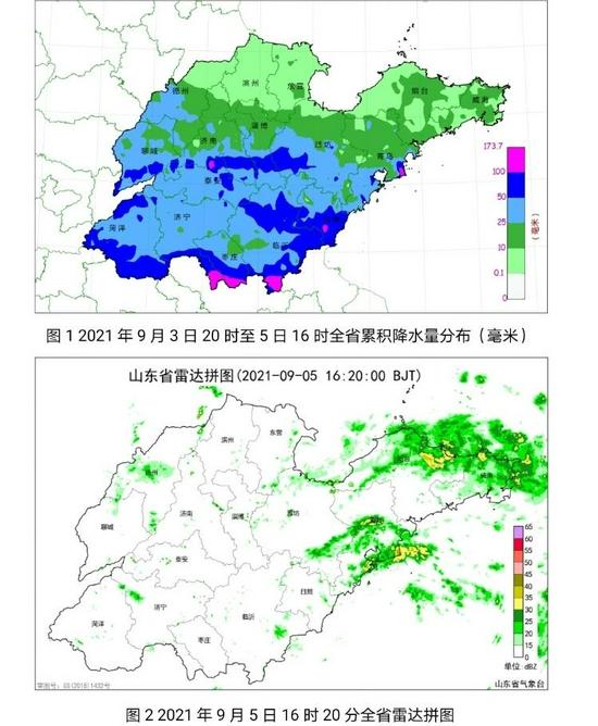 山东本轮降雨将于6日结束 降雨雷达回波位于半岛地区