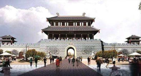 新增的4A级景区有潍坊市十笏园文化街区。