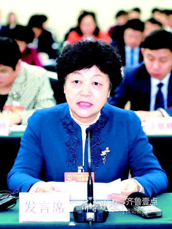 全国人大代表、山东大学校长樊丽明
