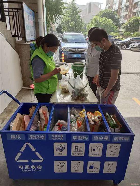 垃圾分类产业链再延长 青岛市南有了可回收物收集线