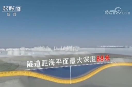 中国首条地铁海底隧道贯通