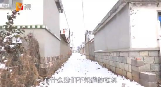 徐春克所描述的老房子,位于村子里的一条老巷子内。
