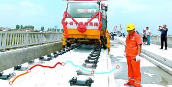 鲁南高铁线下工程全部完工