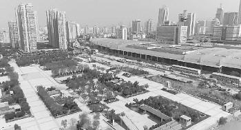 """济南火车站北广场工程近年来成了众所周知的""""马拉松工程""""。"""
