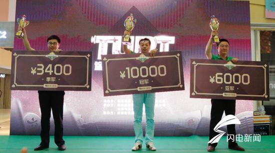 2018TUPT济南站三强聚首——高手对决,精彩纷呈